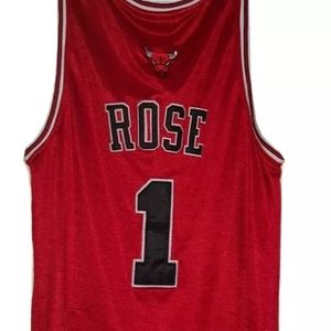 Derrick Rose Bulls Adidas NBA jersey | sz 48/L